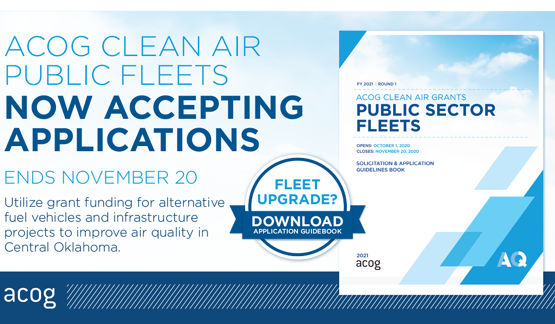Clean Air Grants for Public Sector Fleets Available